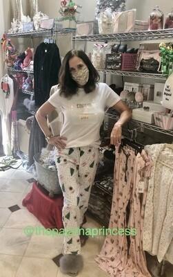 Coffee Latte Pajama Cotton Pajama Lounge Pant