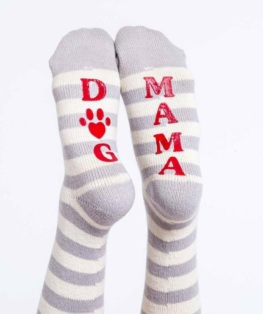 Fun Non Slip Dog Mama Socks