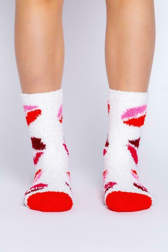 Fun NonSlip Kisses Socks