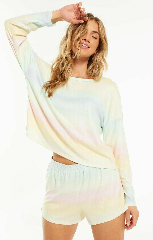 Skylar Pastel Tie Dye Lounge Shorts