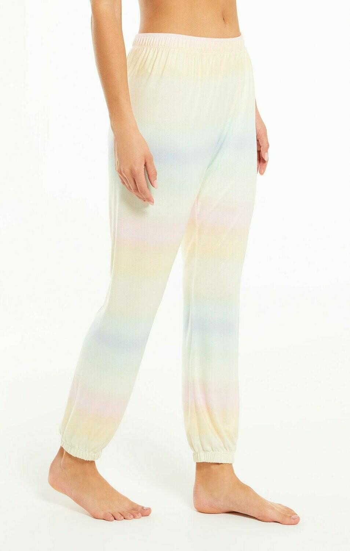 Skylar Pastel Tie Dye Lounge Pant Size M