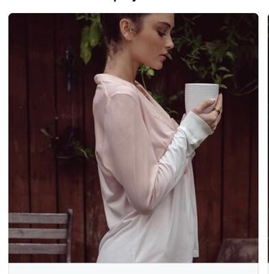 Cosabella Ombre Pajama PJ Short Set Pima Cotton