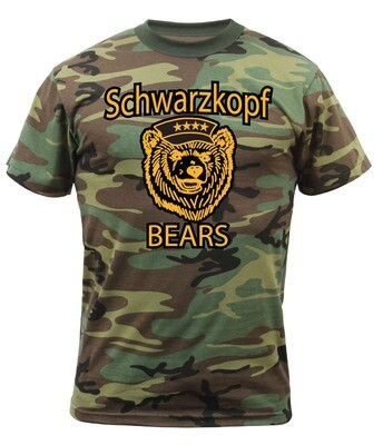 Youth CAMO Spirit Shirt