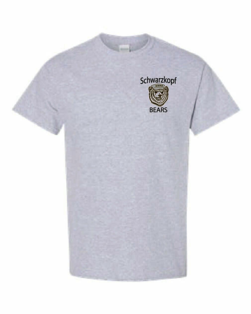 Youth Bear Logo Gray Shirt