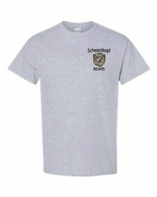 Youth Bear Logo Gray Shirt
