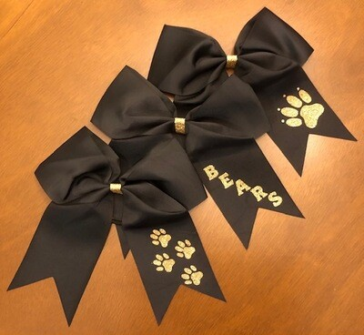 Jumbo Black Bow