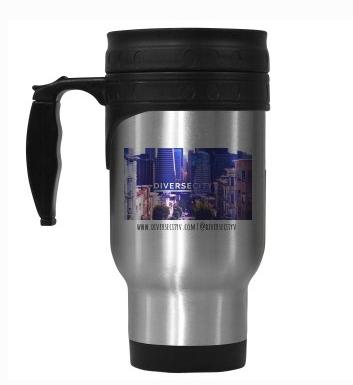 DiverseCity Ventures Stainless Steel Travel Mug