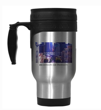 DiverseCity Ventures Stainless Steel Travel Mug