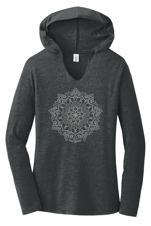 Mandala Hoodie - Ladies' Pullover