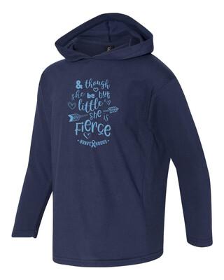 Little but Fierce Hoodie - Girls' Pullover