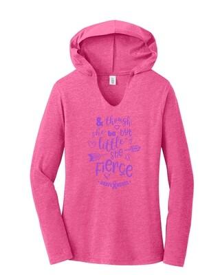 Little but Fierce Hoodie - Ladies' Pullover