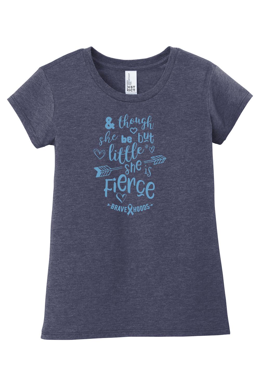 Little but Fierce T Shirt - Girls