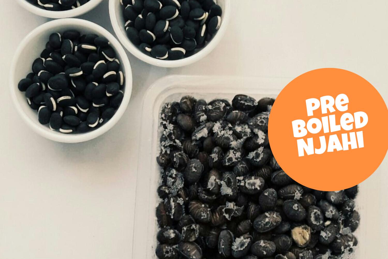Pre Boiled Lablab beans a.k.a njahi 500g pack
