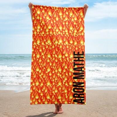 Aron Mathe Beach Towel Limited Edition