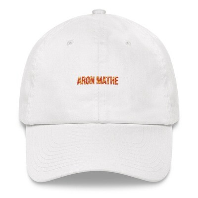 Aron Mathe Hat Simple Color / White Limited Edition