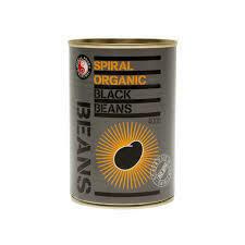 BLACK BEANS CAN ORGANIC 400G