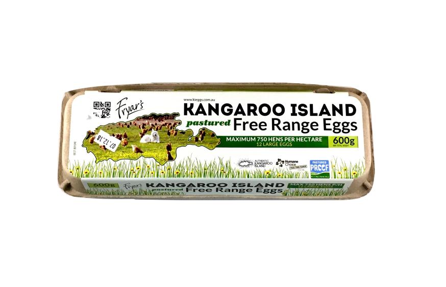KANGAROO ISLAND EGGS 700g