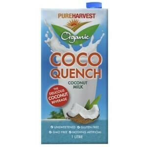COCOQUENCH COCONUT MILK  ORGANIC 1L