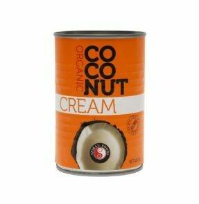 COCONUT CREAM  ORGANIC 400ML CAN