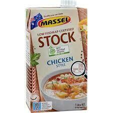 MASSEL CHICKEN STOCK ORGANIC 1L