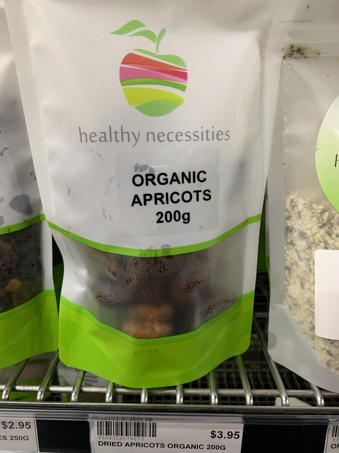 HN DRIED FRUIT - APRICOTS ORGANIC 200G