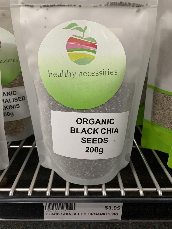 HN CHIA SEEDS BLACK ORGANIC 200G