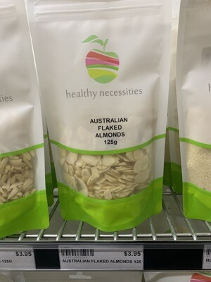 HN NUTS - ALMONDS FLAKED 125G