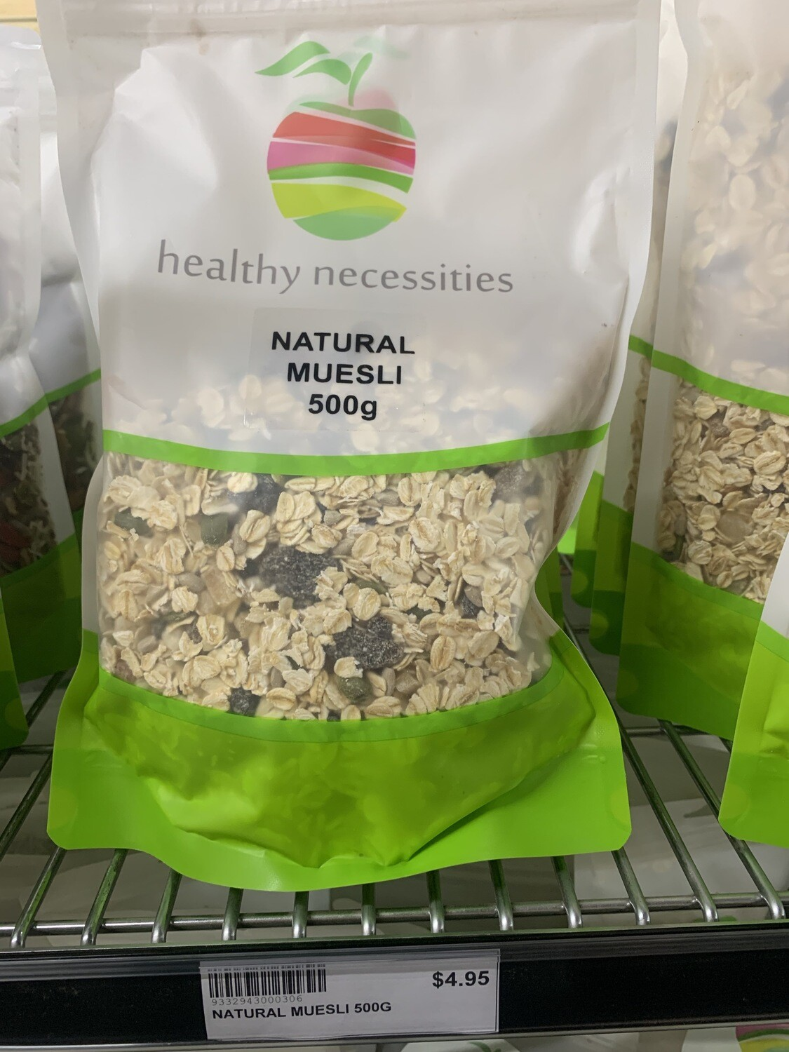 HN MUESLI - NATURAL 500G