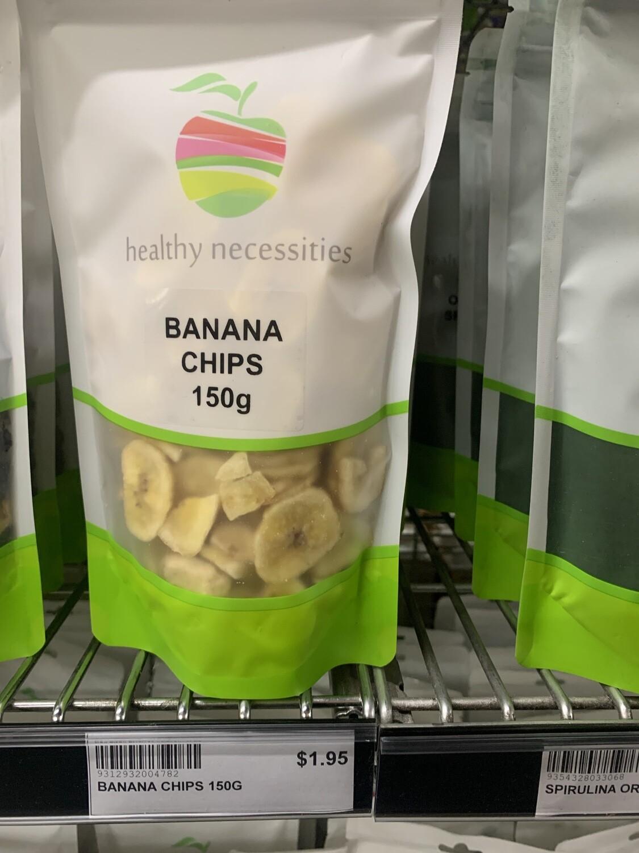 HN DRIED FRUIT - BANANA CHIPS 150G
