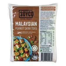 TOFU MALAYSIAN PEANUT SATAY 200G