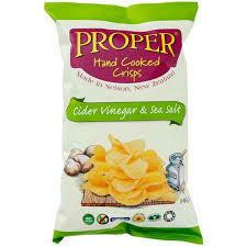 PROPER CRISPS CIDER VINEGAR & SEA SALT*