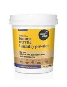 LAUNDRY POWDER LEMON MYRTLE* 1.75KG