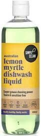 DISHWASH LIQUID LEMON MYRTLE* 500ml