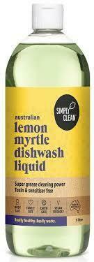 DISHWASH LIQUID LEMON MYRTLE* 1L