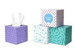 BAMBOO TISSUE BOX*  65 SHEETS