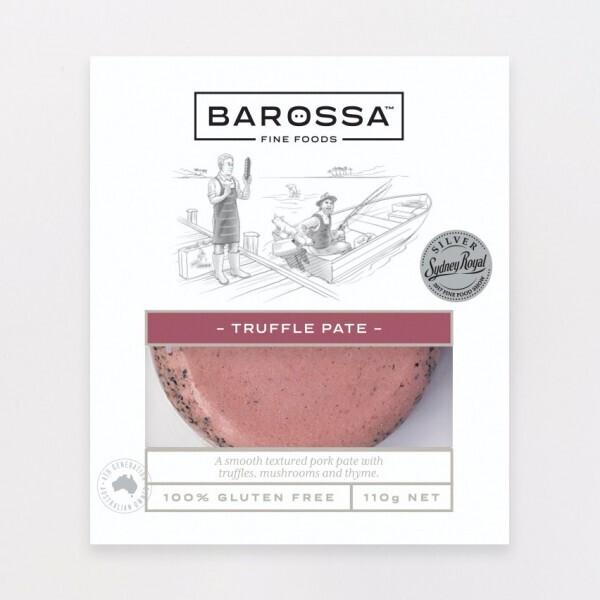 BAROSSA FINE FOODS -  TRUFFLE PATE