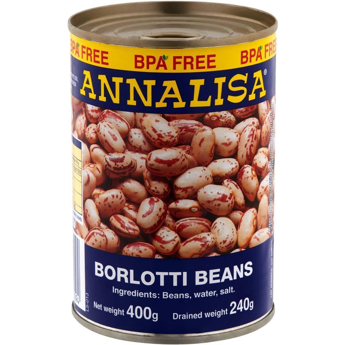 ANNALISA BORLOTTI BEANS