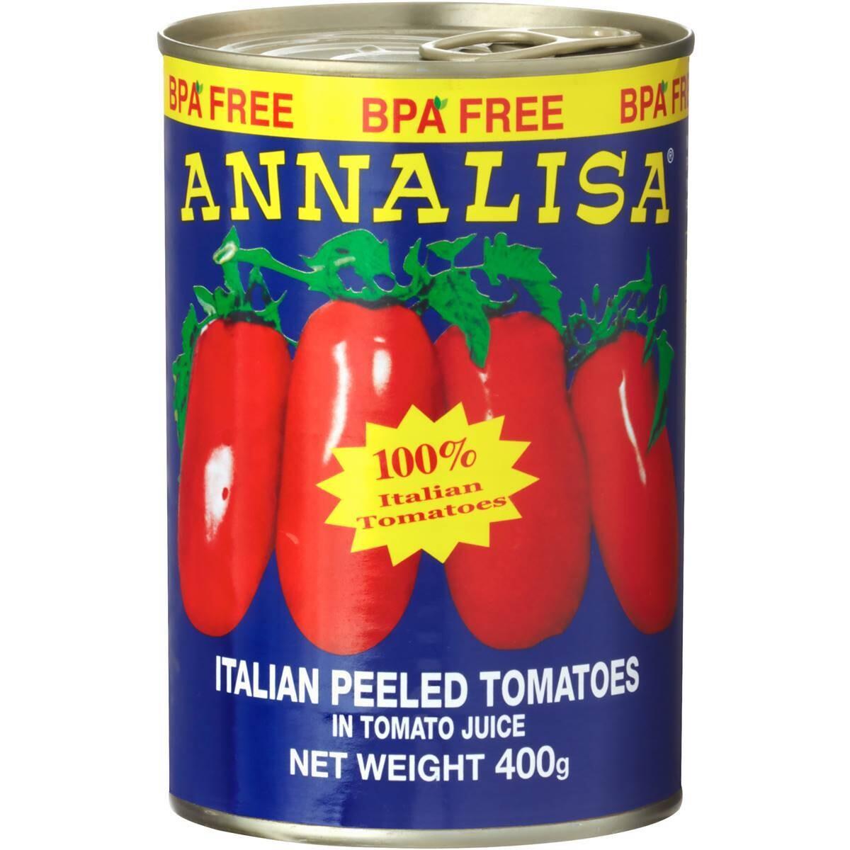 ANNALISA PEELED WHOLE TOMATO