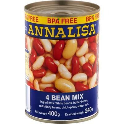 ANNALISA FOUR BEAN MIX