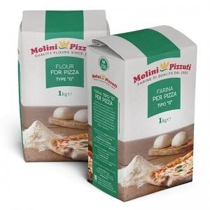 MOLINI PIZZUTI 1KG - PIZZA FLOUR