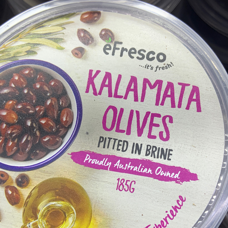 AUSFRESH ANTIPASTO - KALAMATA OLIVES PITTED