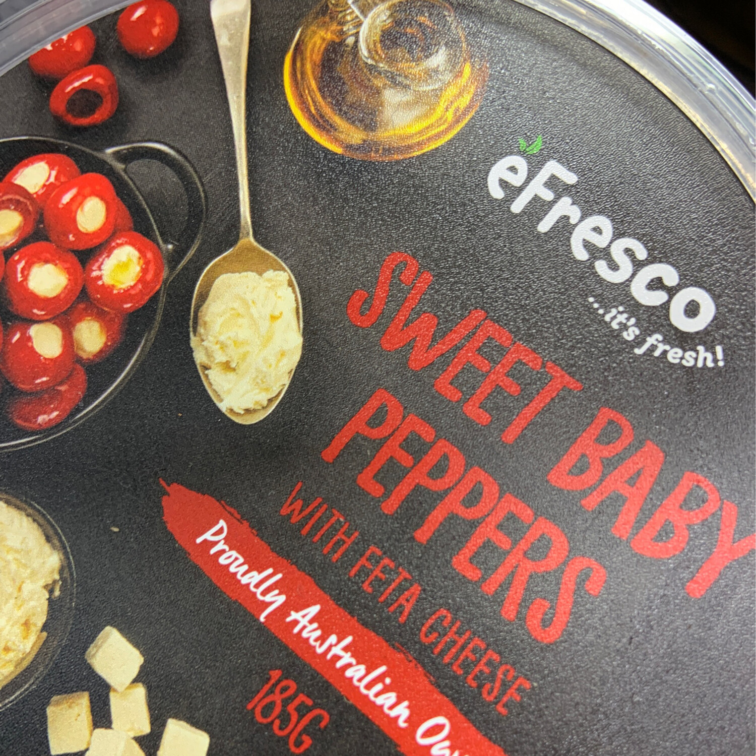 AUSFRESH ANTIPASTO - SWEET BABY PEPPERS WITH FETTA CHEESE