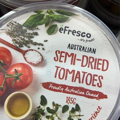 AUSFRESH ANTIPASTO - SEMI DRIED TOMATOES