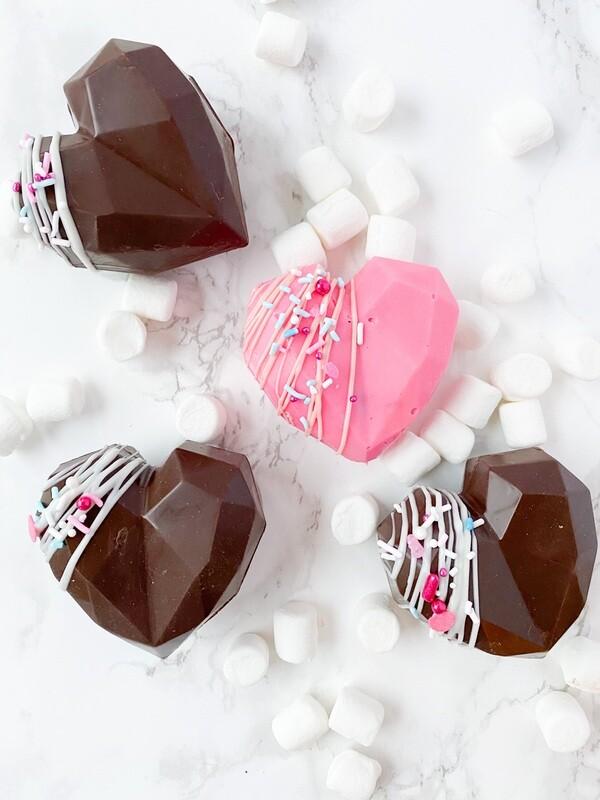 Valentine Heart Hot Cocoa Bomb
