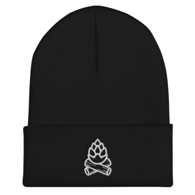 Embroidered Hopfire Beanie