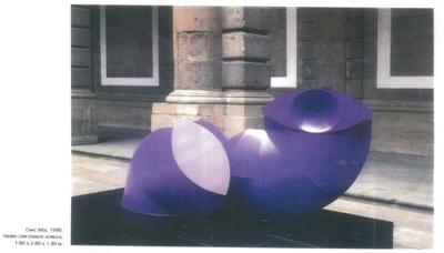 Escultura Chac Mol 1990