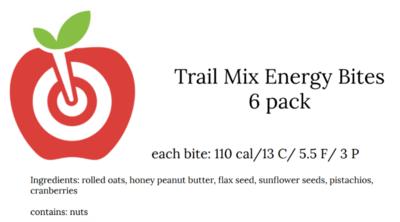 Trail Mix Energy Bites
