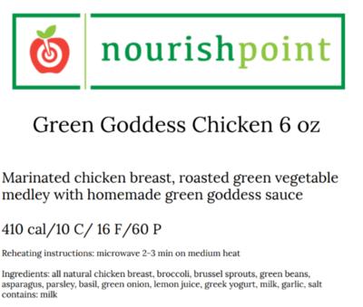 Green Goddess Chicken 6 oz