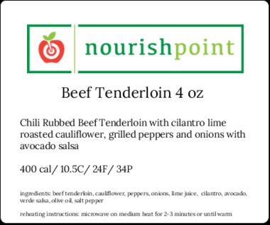 Beef Tenderloin 4oz