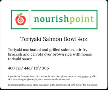 Teriyaki Salmon 4 oz